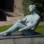 Wegdromen - brons 115 cm
