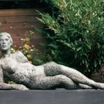 Zoals zij is - brons 140 cm
