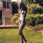 Staand naakt - brons 170 cm