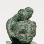 Le baiser - brons 10 cm