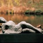 Horizon - brons 100 cm